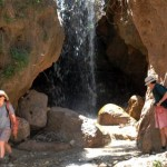 Randonnée aux cascades près du gîte ourthane