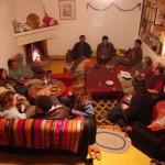 Partage autour du thé à Ourthane