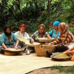 Coopérative de femmes à Ourthane